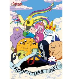 Adventure Time Clouds Poster 61x91.5cm