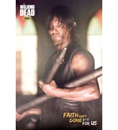 The Walking Dead Daryl Faith Poster 61x91.5cm