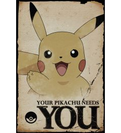 Pokemon - Pikachu needs you