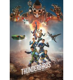 Thunderbirds Are Go - Collage