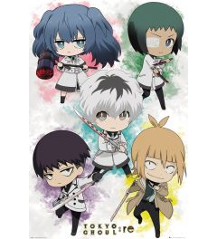 Tokyo Ghoul Re Chibi Characters Poster 61x91.5cm