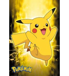Pokemon Pikachu Neon Poster 61x91.5cm
