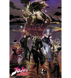 JoJo's Bizarre Adventure Group Poster 61x91.5cm