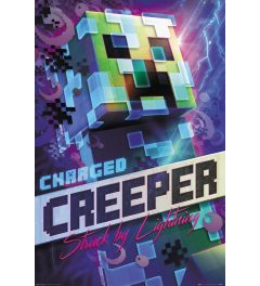 Minecraft Charged Creeper Poster 61x91.5cm