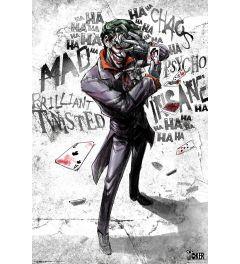 Joker Type Poster 61x91.5cm