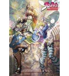 Jojo's Bizarre Adventure Joseph and Ceasar Poster 61x91.5cm