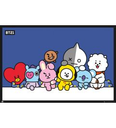 BT21 Group Poster 61x91.5cm