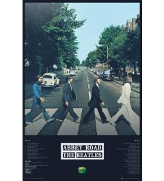 Beatles Abbey Road Tracks Poster 61x91.5cm