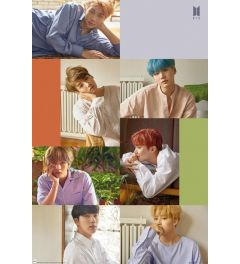 BTS Group Collage Poster 61x91.5cm