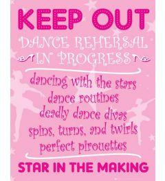 Keep Out - Ballerina