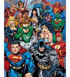 DC Comics Cast Poster 40x50cm