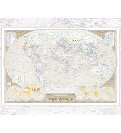 Wereldkaart - English