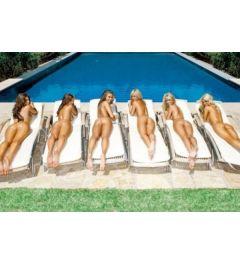 Sunbed Girls Poster 61x91.5cm