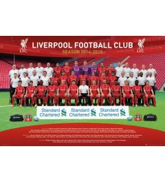 Liverpool - Team Photo 14/15