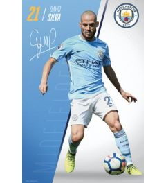 Manchester City Silva 17/18