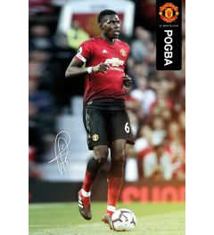 Manchester United Pogba 18-19 Poster 61x91.5cm