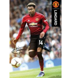 Manchester United Lingard 18-19 Poster 61x91.5cm