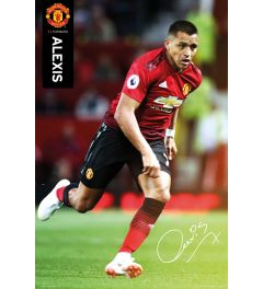 Manchester United Alexis 18-19 Poster 61x91.5cm