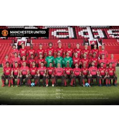 Manchester United Players 18-19 Poster 61x91.5cm