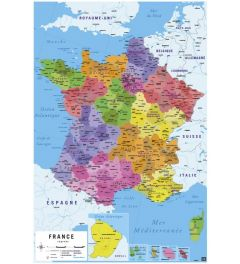France Map - French