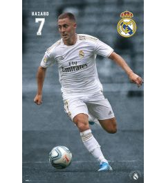 Real Madrid 19-20 Hazard Poster 61x91.5cm