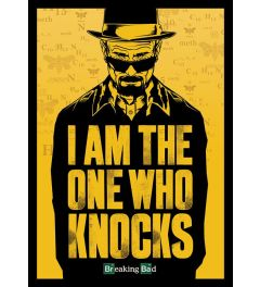 Breaking Bad I Am The One Who Knocks Poster 100x140cm