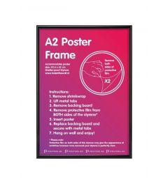 Frame A2 Black 42x59,4cm Plastic