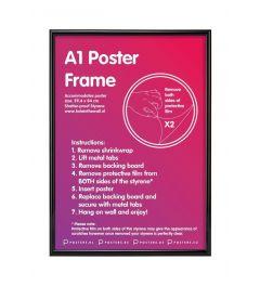 Frame A1 Black 59,4x84cm Plastic
