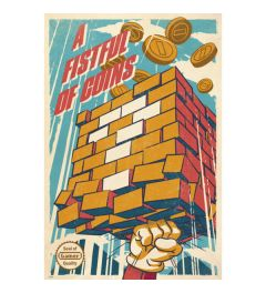 A Fistful Of Coins Poster 61x91.5cm