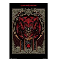 Dungeons And Dragons Players Handbook Poster 61x91.5cm