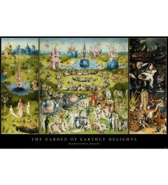 Garden Of Earthly Delights Hieronymus Bosch Poster 61x91.5cm