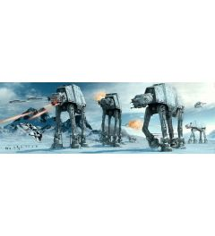 Star Wars At-At Fight Poster 53x158cm