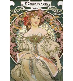 Alfons Mucha Jugendstil Poster 61x91.5cm