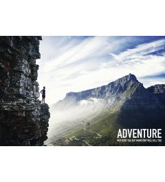 Adventure May Hurt You But Poster 61x91.5cm