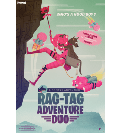 Fortnite Rag-Tag Adventure Duo Poster 61x91.5cm