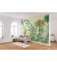 In The Jungle 7-part Wall Mural 350x280cm