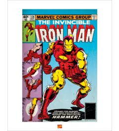 Iron Man Art Print 40x50cm