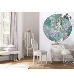 Jasmine Self-adhesive Wallpaper Circle ⌀125