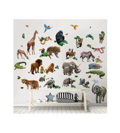 Jungle Wall Sticker Set