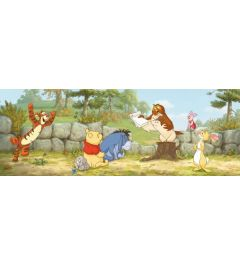 Winnie the Pooh Lesson One 1-part Wall Mural 202x73 cm