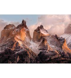 Torres Del Paine 4-delig Fotobehang 254x184cm