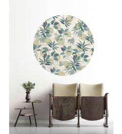 Leni Self-adhesive Wallpaper Circle ⌀125cm