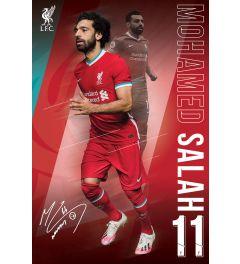 Liverpool FC Salah 20/2021 Season Poster 61x91.5cm
