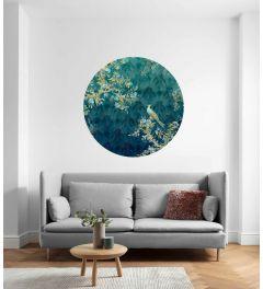 Majestic Self-adhesive Wallpaper Circle ⌀125cm
