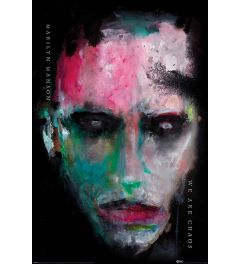 Marilyn Manson We Are Chaos Poster 61x91.5cm