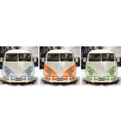 Volkswagen Camper triptych Poster 91.5x30.5cm