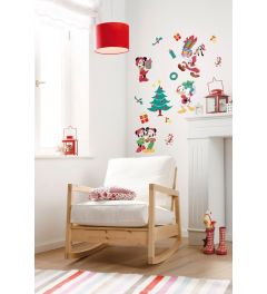 Mickey Christmas Presents Wall Sticker set