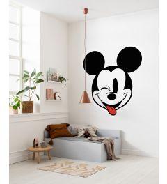 Mickey Head Optimism Self-adhesive Wallpaper Circle ⌀125