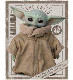 Star Wars The Mandalorian The Child Poster 40x50cm