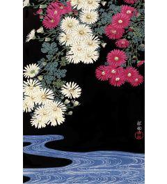 Ohara Koson Chrysanthemum and Running Water Poster 61x91.5cm